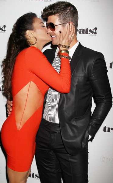 Paula Patton & Robin Thicke - February 2014 - BellaNaija