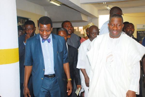 President Jonathan at RCCG Ikoyi - February 2014 - BellaNaija 03