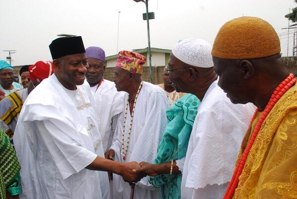 President Jonathan in Osun- February 2014 - BellaNaija 01