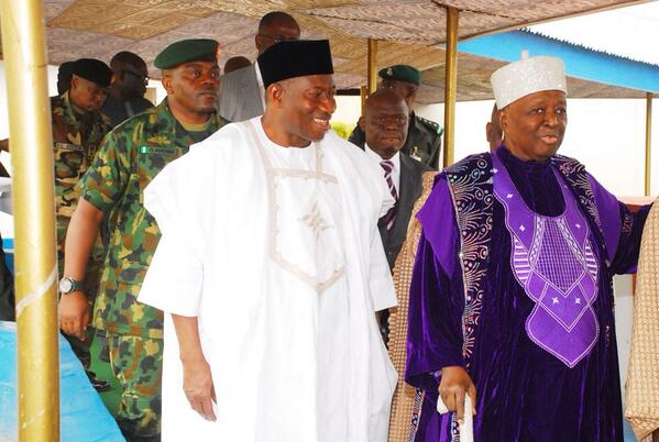 President Jonathan in Osun- February 2014 - BellaNaija 02