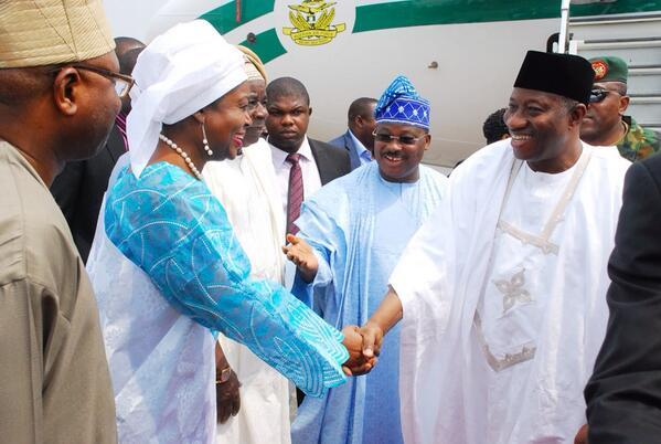 President Jonathan in Oyo - February 2014 - BellaNaija 01