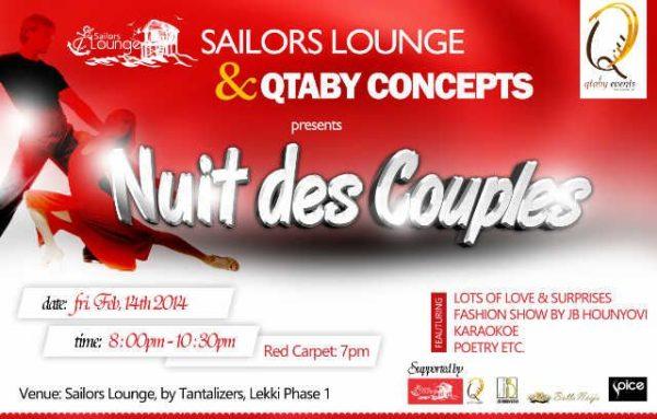 Sailors Lounge & Qtaby Concepts presents Nuit De Couples - BellaNaija - February 2014