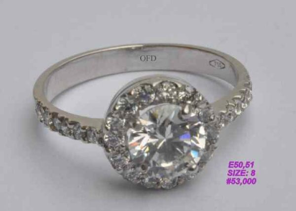 Buy Any 18 Carat Gold Engagement Ring Amp Win An Exotic