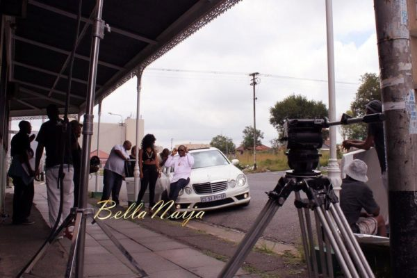 Sean Tizzle's Video Shoot in South Africa - February 2014 - BellaNaija - 023