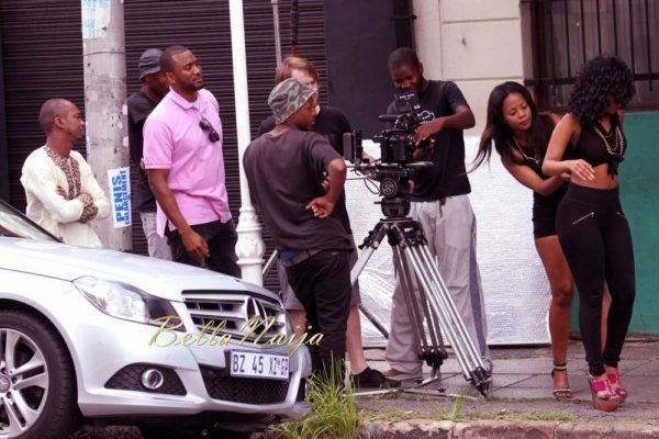 Sean Tizzle's Video Shoot in South Africa - February 2014 - BellaNaija - 024