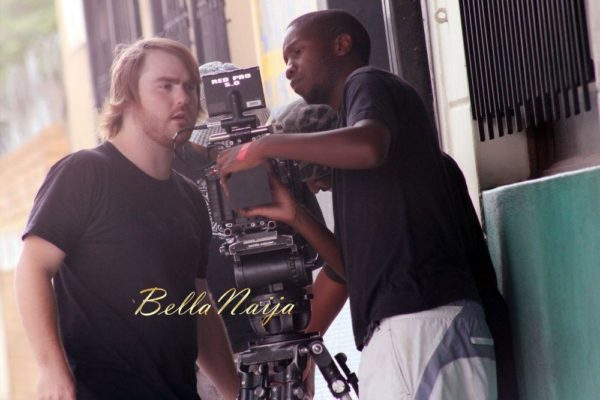 Sean Tizzle's Video Shoot in South Africa - February 2014 - BellaNaija - 025
