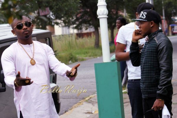 Sean Tizzle's Video Shoot in South Africa - February 2014 - BellaNaija - 026