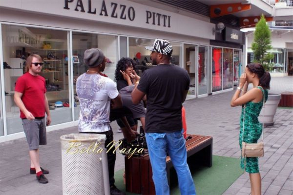 Sean Tizzle's Video Shoot in South Africa - February 2014 - BellaNaija - 028