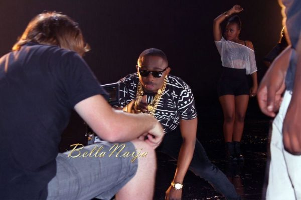 Sean Tizzle's Video Shoot in South Africa - February 2014 - BellaNaija - 030