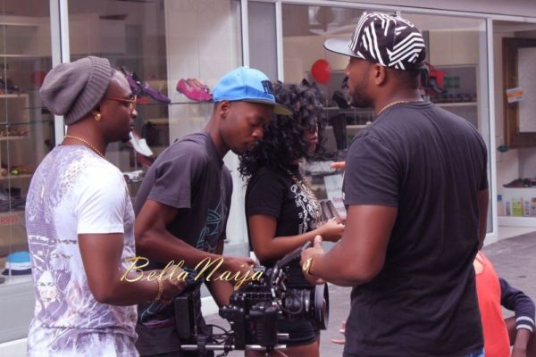 Sean Tizzle's Video Shoot in South Africa - February 2014 - BellaNaija - 034