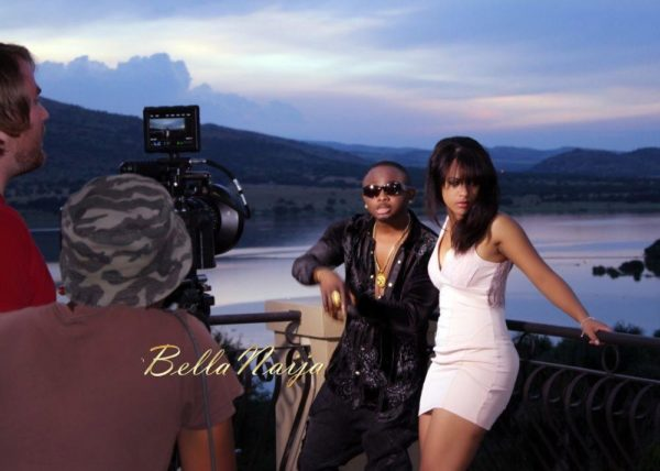 Sean Tizzle's Video Shoot in South Africa - February 2014 - BellaNaija - 035