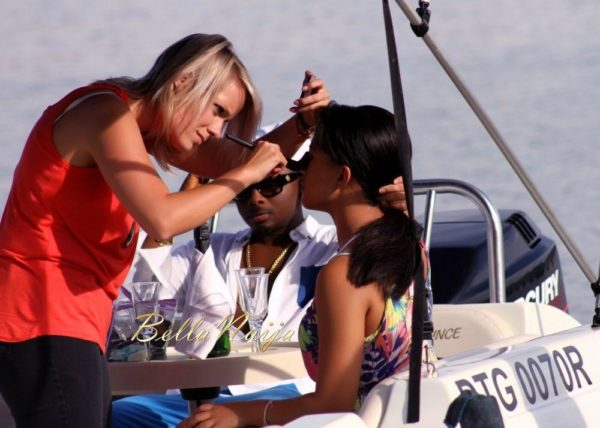 Sean Tizzle's Video Shoot in South Africa - February 2014 - BellaNaija - 037