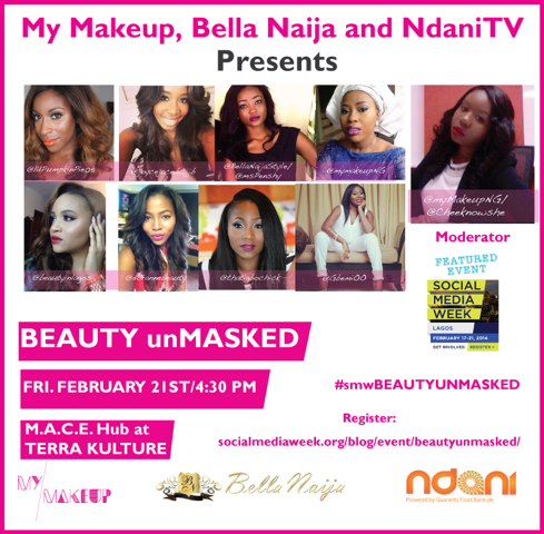 Social Media Week Beauty UnMasked with BellaNaija and NdaniTV - BellaNaija - February 2014