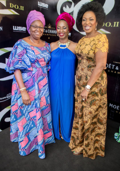 The First Lady of Lagos State, Dame Abimobola Fashola, Ifeyinwa Ighodalo & First Lady of Cross River State, H.E Mrs Obioma Liyel Imoke