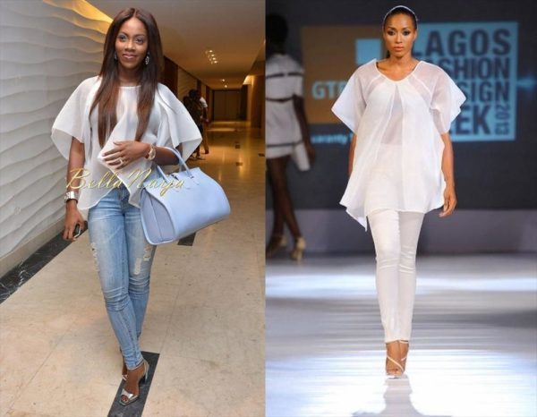 Tiwa Savage in Bridget Awosika - February 2014 - BellaNaija Style - BellaNaija 01
