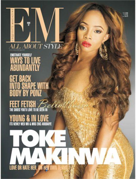 Toke Makinwa on Exquisite Magazine - February 2014 - BellaNaija - 021