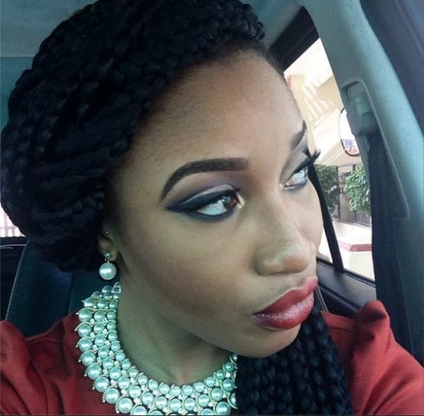 Tonto Dikeh Makeup Look - BellaNaija - February 2014006