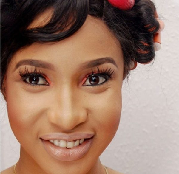 Tonto Dikeh Makeup Look - BellaNaija - February 2014007