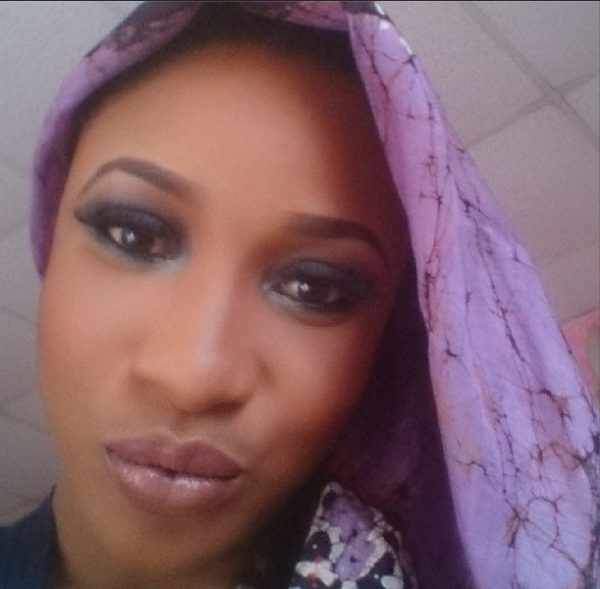 Tonto Dikeh Makeup Look - BellaNaija - February 2014009
