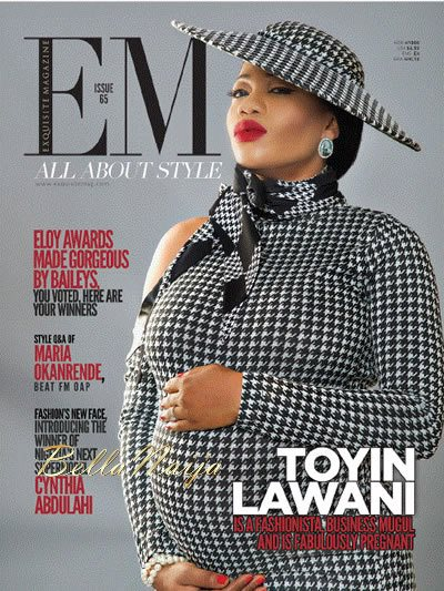 Toyin Lawani - Exquisite Magazine - February 2014 - BellaNaija 01