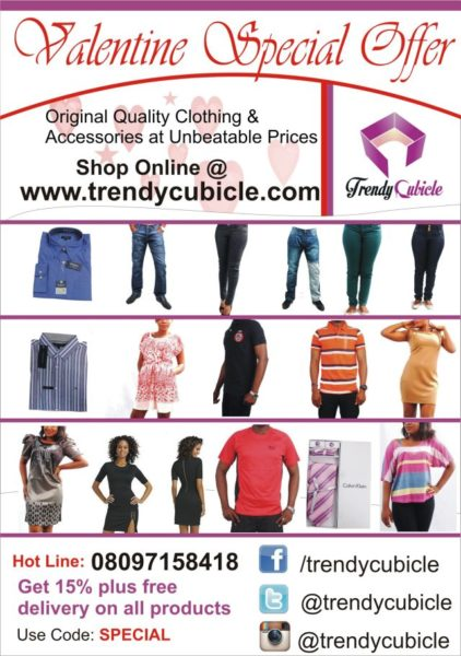 Trendy Cubicle Valentine Special - February 2014 - BellaNaija