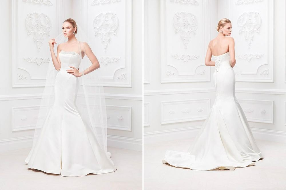 Bn bridal truly zac posen for david 39 s bridal spring for Truly zac posen wedding dress with sequin detail