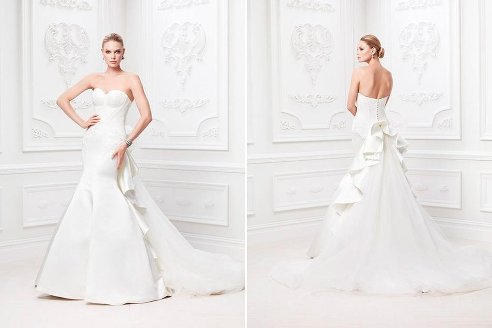 Bn bridal truly zac posen for david 39 s bridal spring for Zac posen wedding dresses