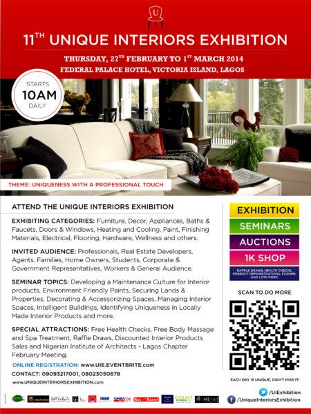 Unique Interiors Exhibition - BellaNaija - February - 2014