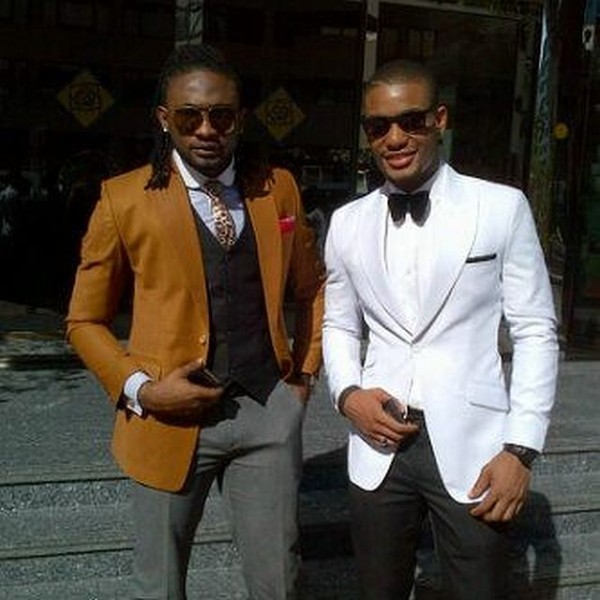 Uti Nwachukwu & Alex Ekubo - February 2014 - BellaNaija