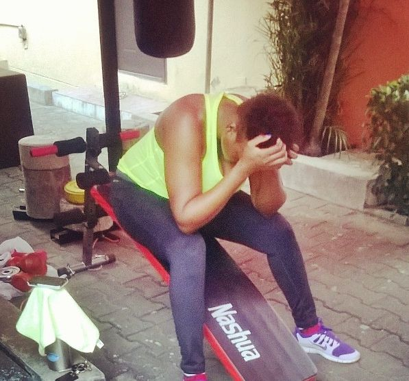 Waje - Workout - February 2014 - BellaNaija 01