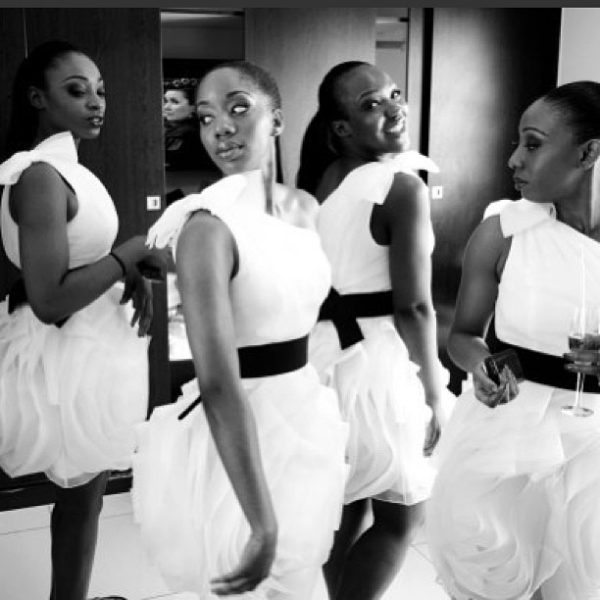 White by Vera Wang Nigerian Wedding