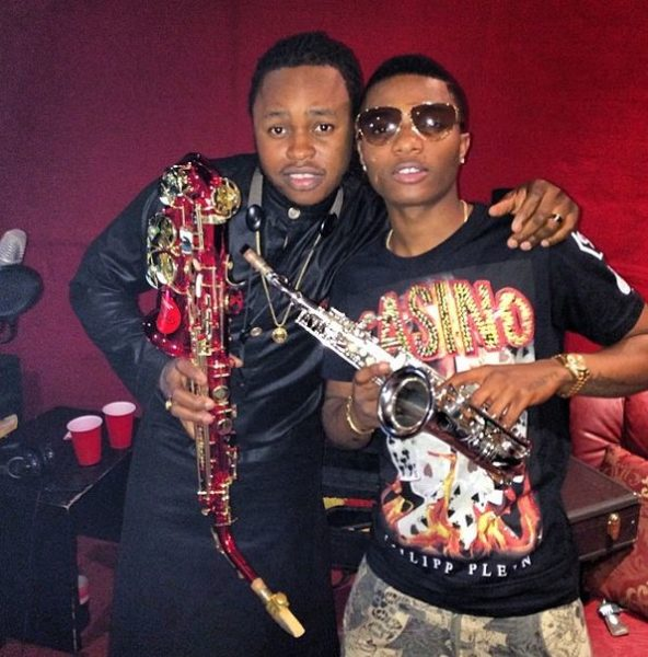 Wizkid - One Question Feat. Yemi Sax - February 2014 - BellaNaija 02