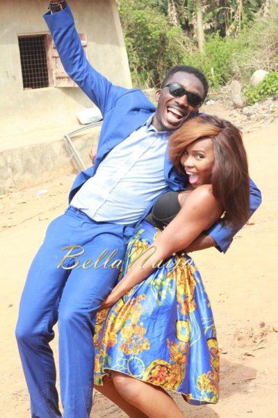 Yemi Alade's Johnny Video Shoot - February 2014 - BellaNaija 011