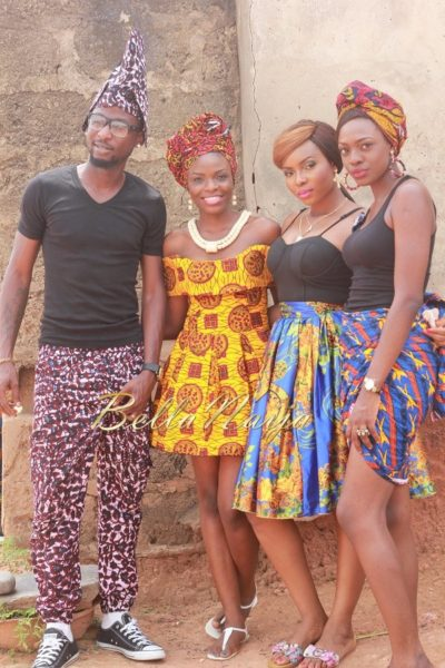 Yemi Alade's Johnny Video Shoot - February 2014 - BellaNaija 012