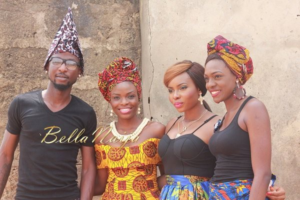 Yemi Alade's Johnny Video Shoot - February 2014 - BellaNaija 013