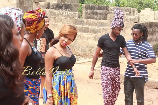 Yemi Alade's Johnny Video Shoot - February 2014 - BellaNaija 014