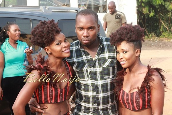 Yemi Alade's Johnny Video Shoot - February 2014 - BellaNaija 05