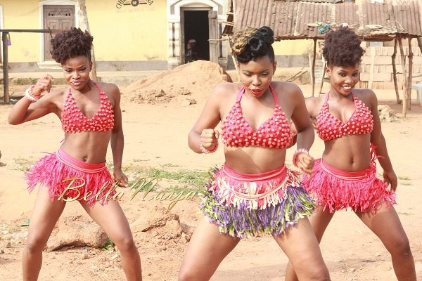 Yemi Alade's Johnny Video Shoot - February 2014 - BellaNaija 06