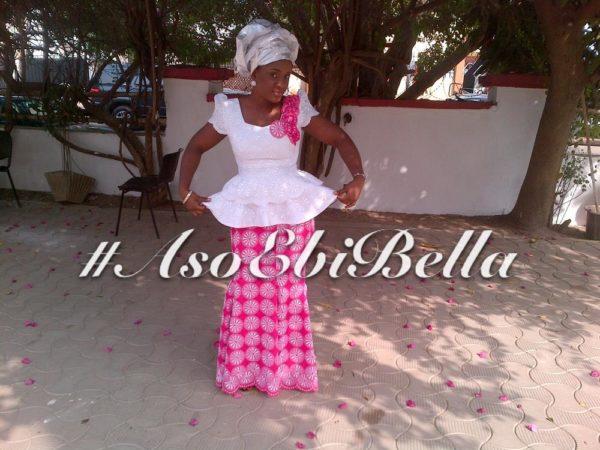 #asoebibella, aso ebi stye,Chiemeka