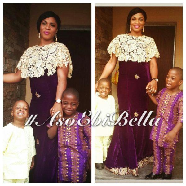 #asoebibella, aso ebi stye,Gbemi and her boys