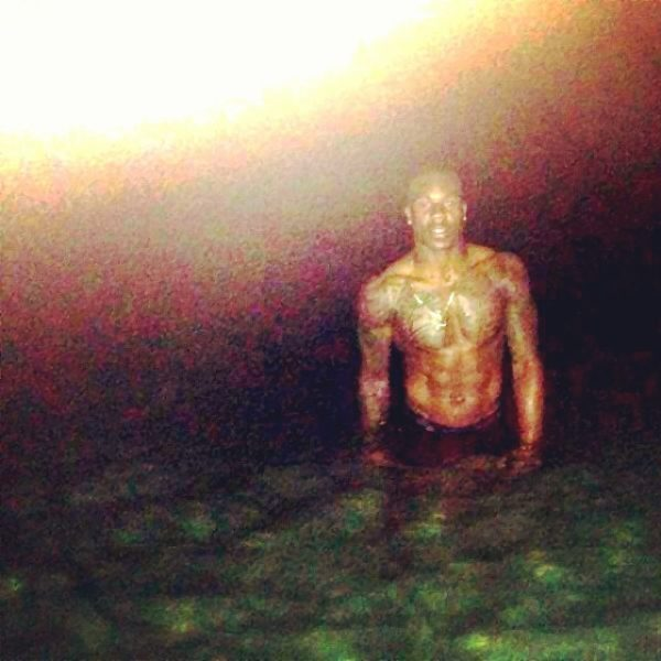 duke ihenacho denver broncos shirtless