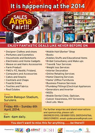 2014 Sales Arena Fair - BellaNaija - March 2014