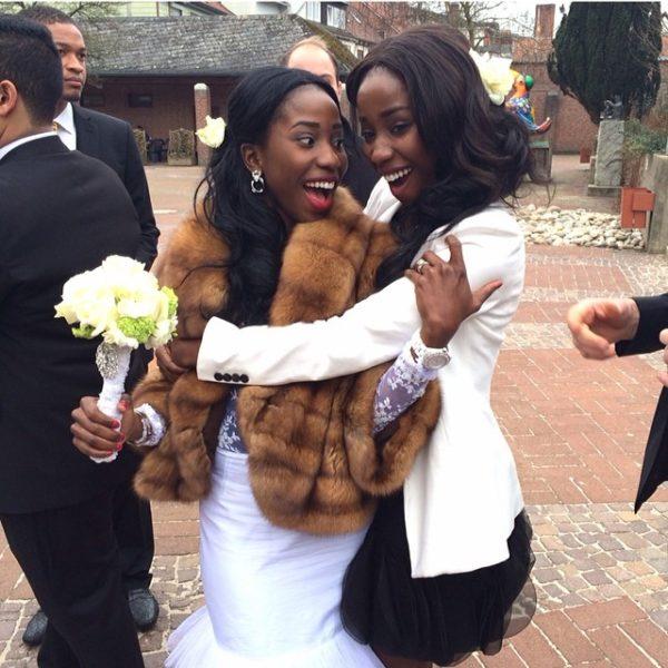 Adanna David wedding germany aww