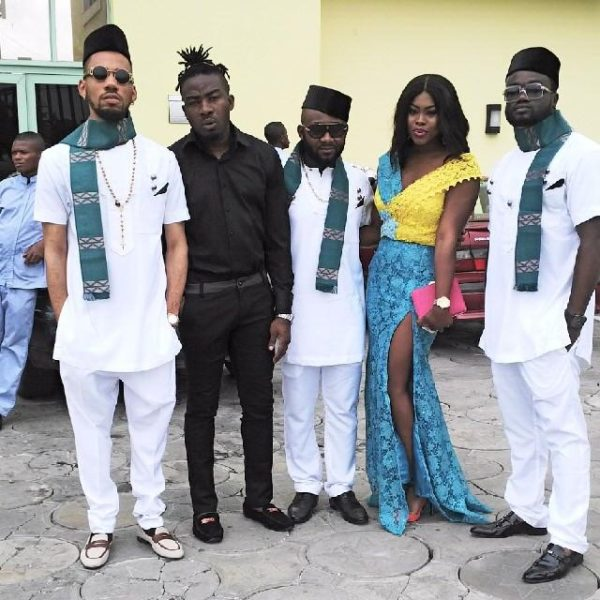 Alex Mouth, Phyno, 2 Shotz & wife - Precious Jones