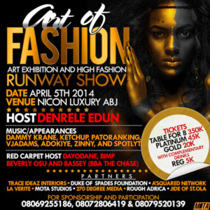 Art Of Fashion - BellaNaija - March - 2014