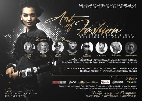 Art of Fashion 2014 - BellaNaija - March 2014