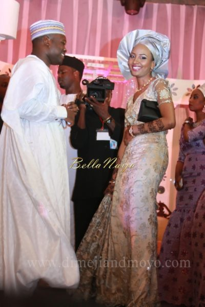 Badriyya & Mohammed Atiku Abubakar | Northern Nigerian Hausa Wedding June 2013 | March 2014 BellaNaija 05U8V4660
