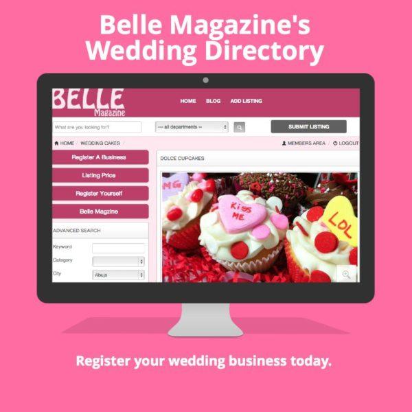 Belle Magazine's Wedding Directory - March 2014 - BellaNajia
