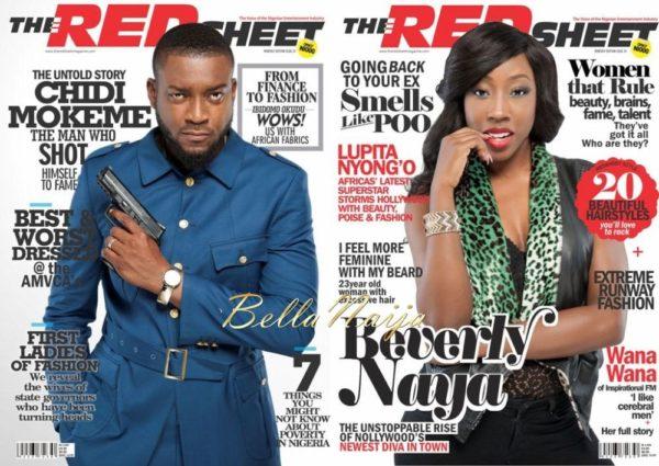 Beverly Naya & Chidi Mokeme cover Redsheet Magazine - March 2014 - BellaNaija - 026