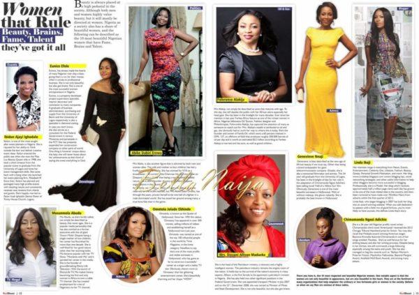 Beverly Naya & Chidi Mokeme cover Redsheet Magazine - March 2014 - BellaNaija - 027